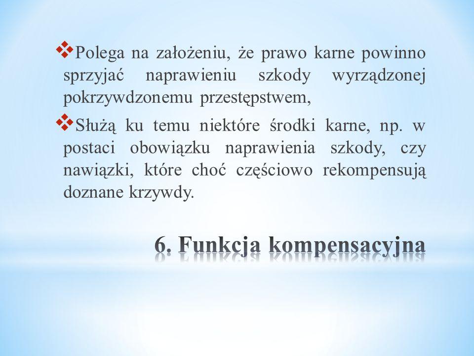 6. Funkcja kompensacyjna