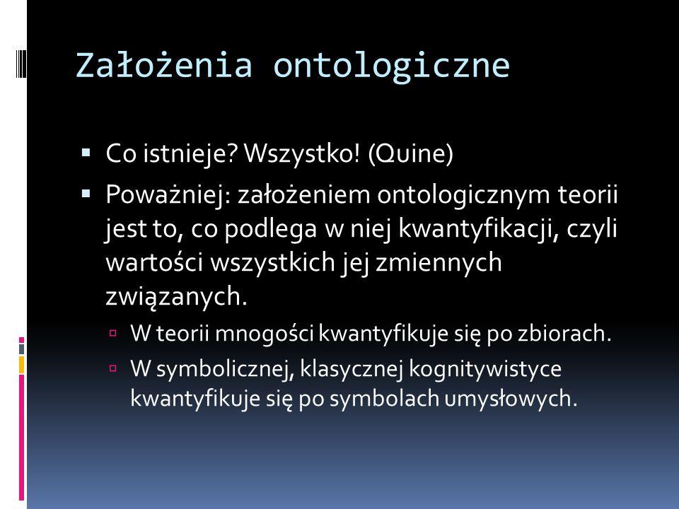 Założenia ontologiczne