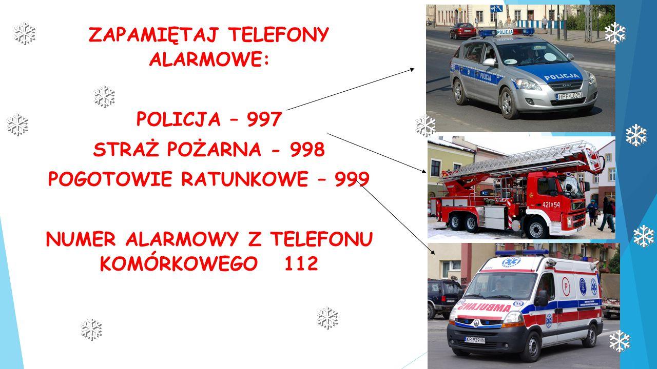 NUMER ALARMOWY Z TELEFONU KOMÓRKOWEGO 112