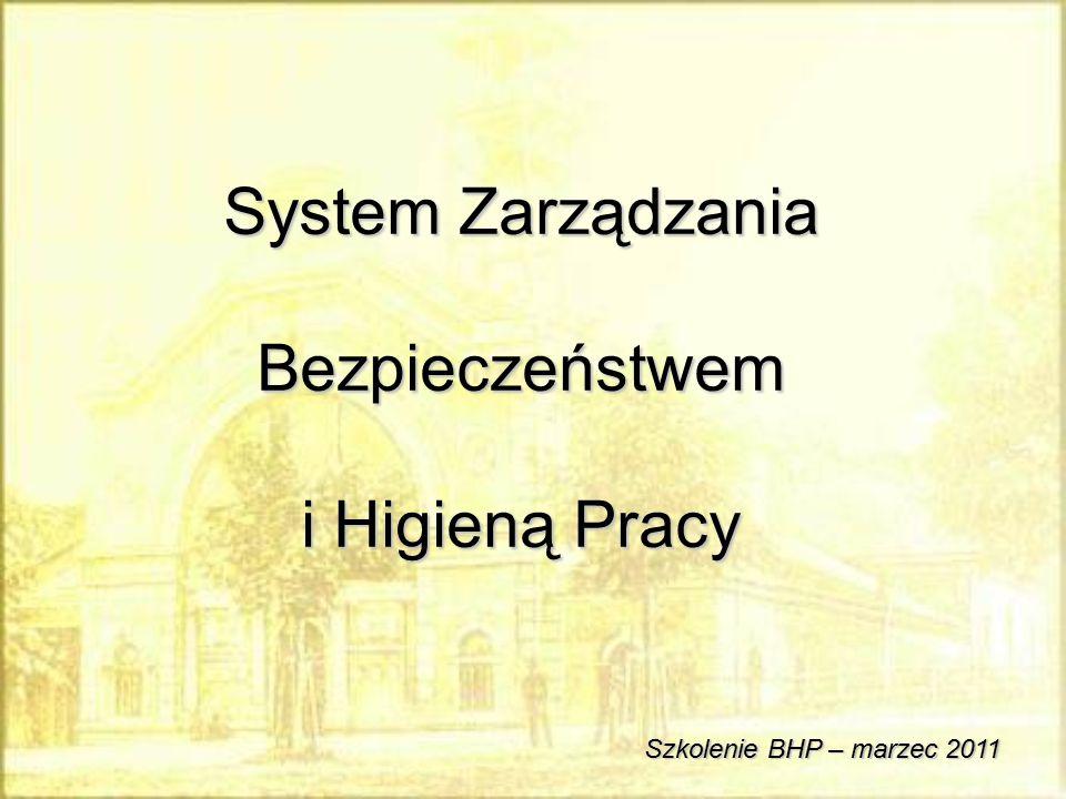 System Zarządzania Bezpieczeństwem i Higieną Pracy