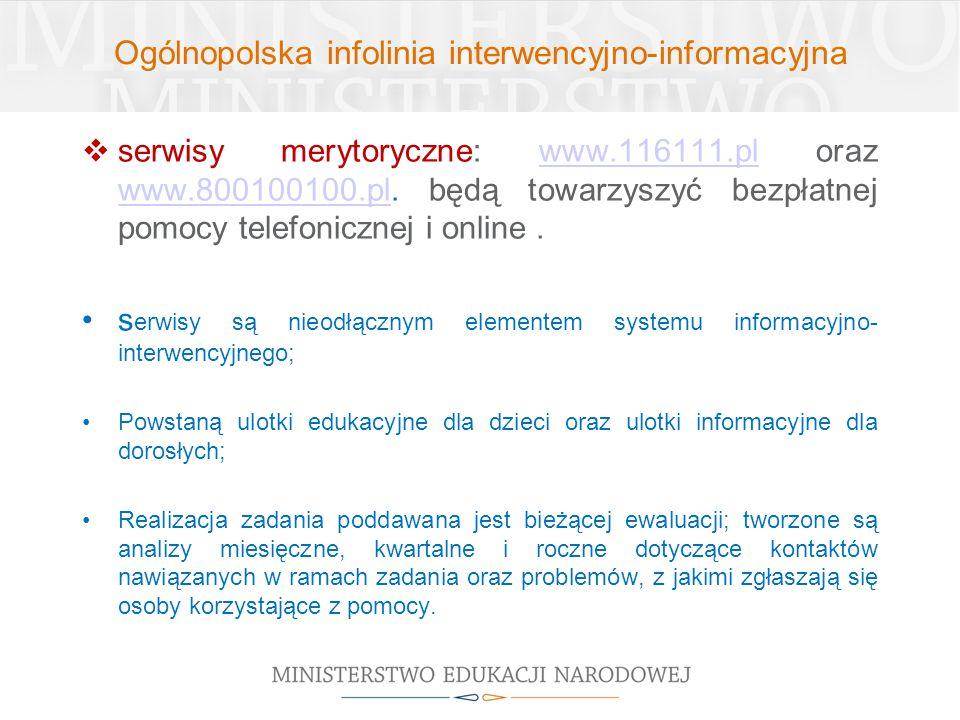 Ogólnopolska infolinia interwencyjno-informacyjna