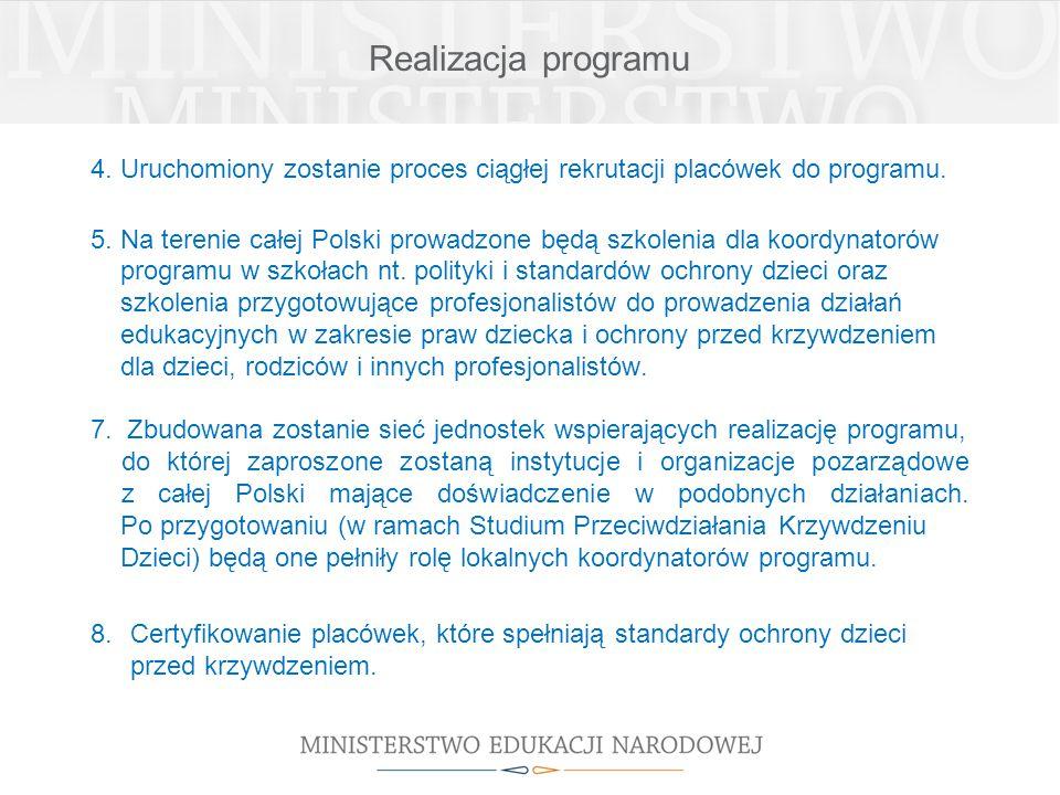 Realizacja programu