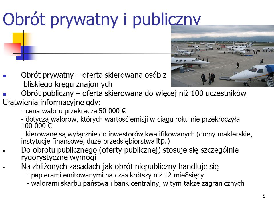 Obrót prywatny i publiczny