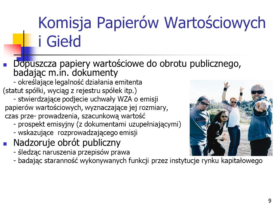 Komisja Papierów Wartościowych i Giełd
