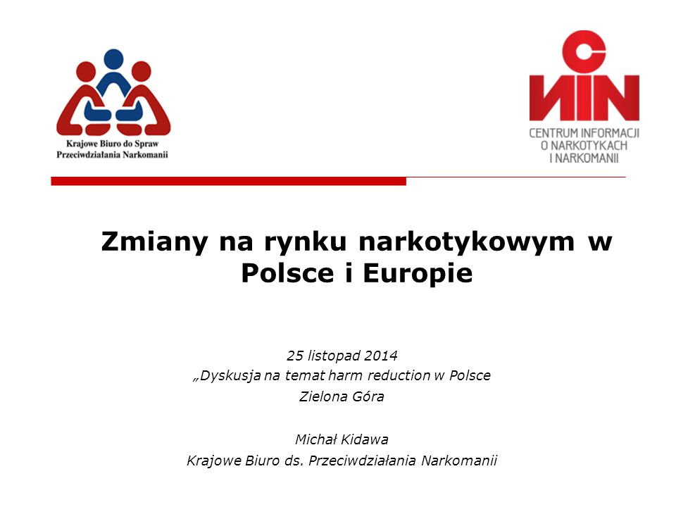 Zmiany na rynku narkotykowym w Polsce i Europie
