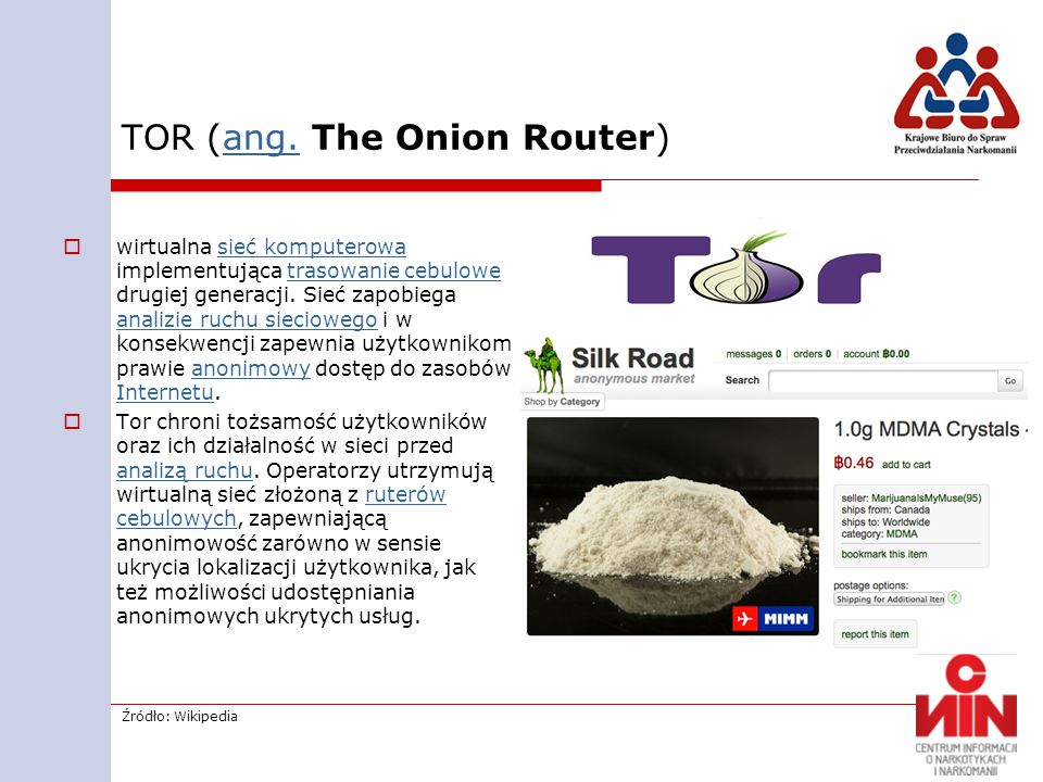 TOR (ang. The Onion Router)