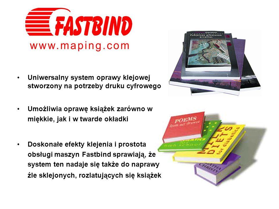 Uniwersalny system oprawy klejowej stworzony na potrzeby druku cyfrowego