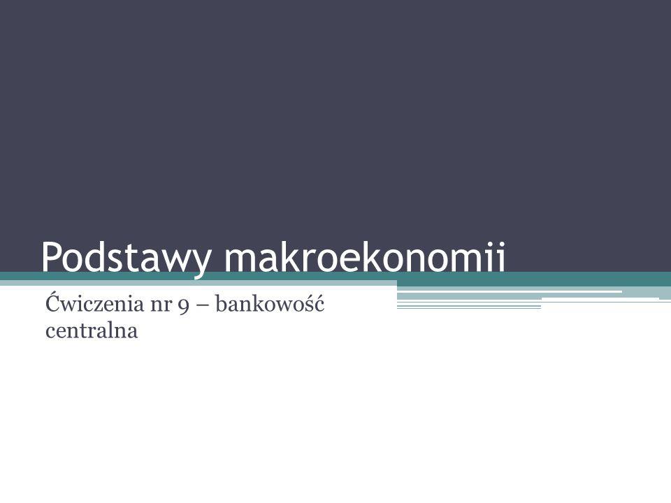 Podstawy makroekonomii