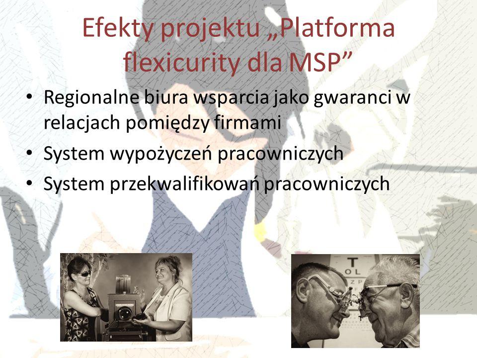 """Efekty projektu """"Platforma flexicurity dla MSP"""