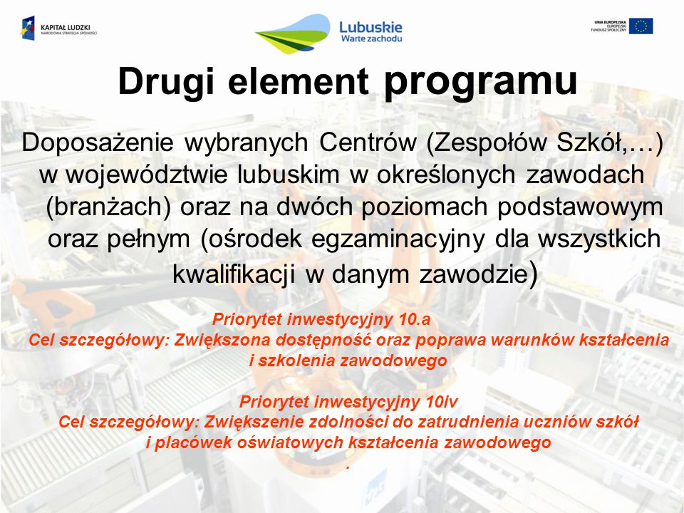 Drugi element programu