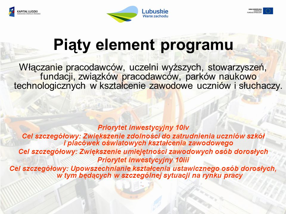 Piąty element programu