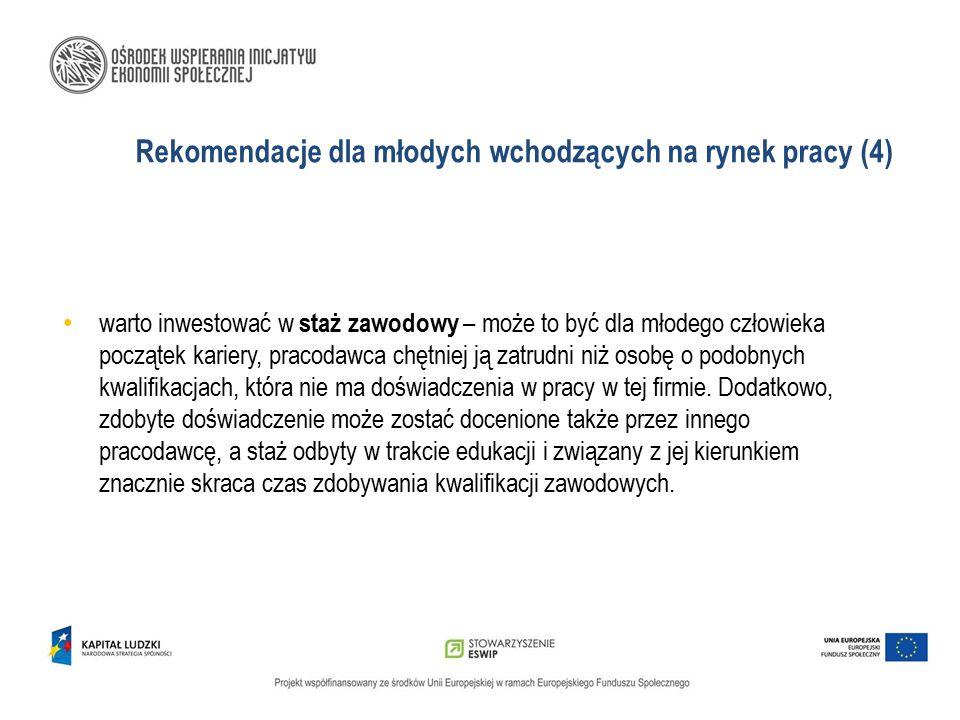 Rekomendacje dla młodych wchodzących na rynek pracy (4)