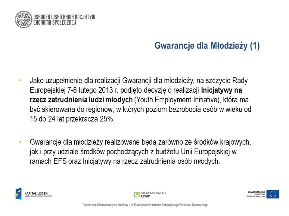 Gwarancje dla Młodzieży (1)