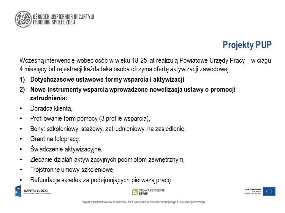 Projekty PUP