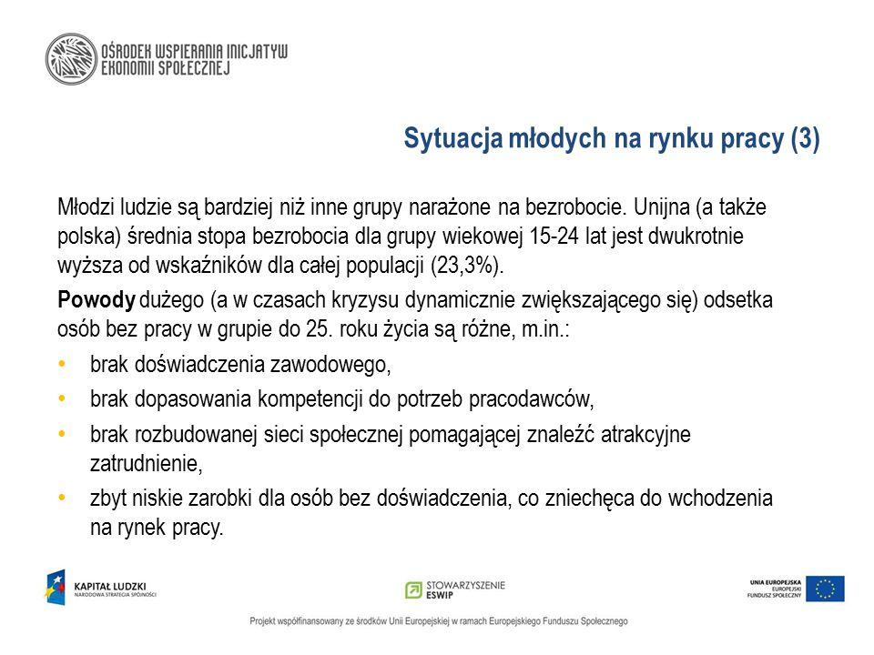 Sytuacja młodych na rynku pracy (3)