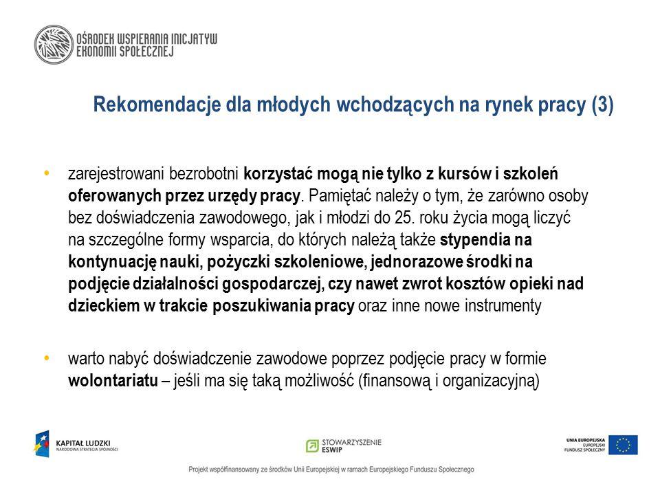 Rekomendacje dla młodych wchodzących na rynek pracy (3)