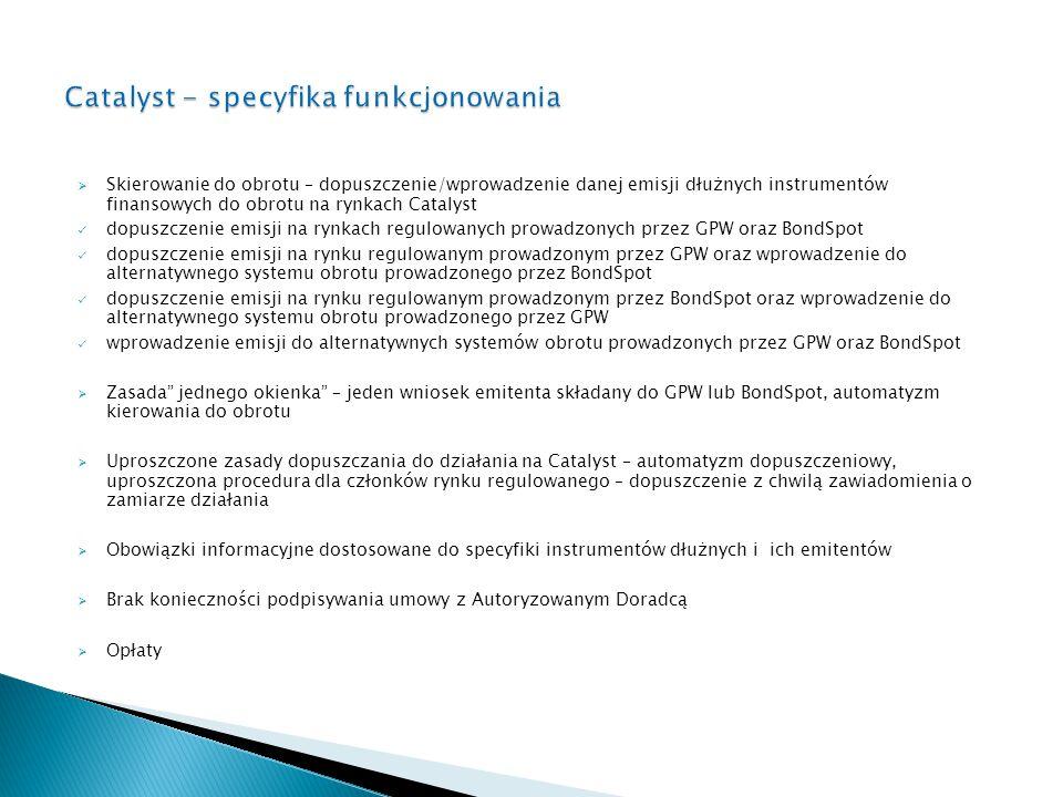 Catalyst - specyfika funkcjonowania