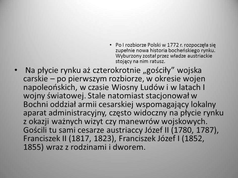 Po I rozbiorze Polski w 1772 r