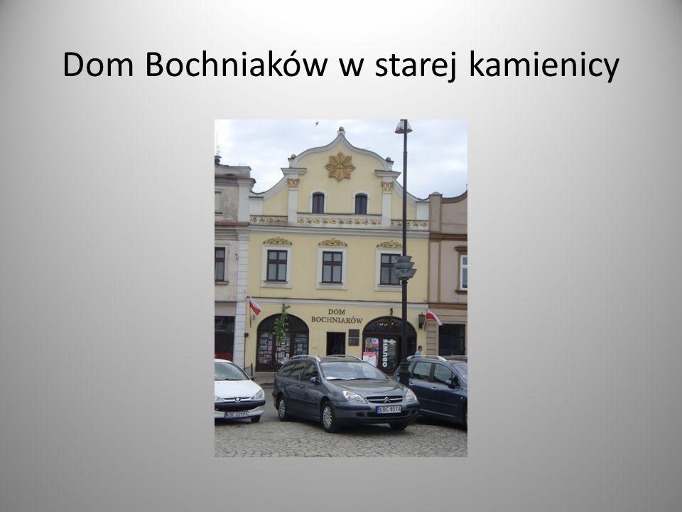 Dom Bochniaków w starej kamienicy