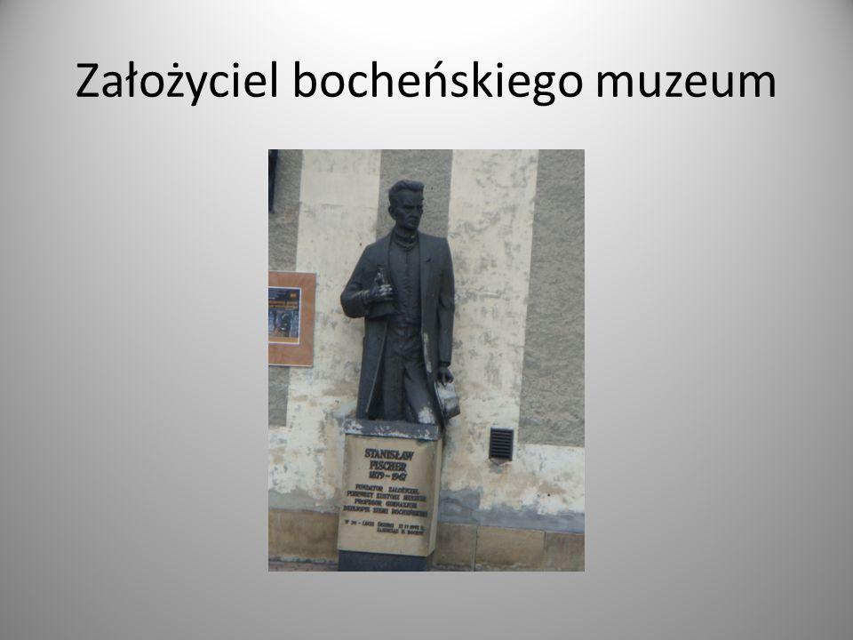 Założyciel bocheńskiego muzeum