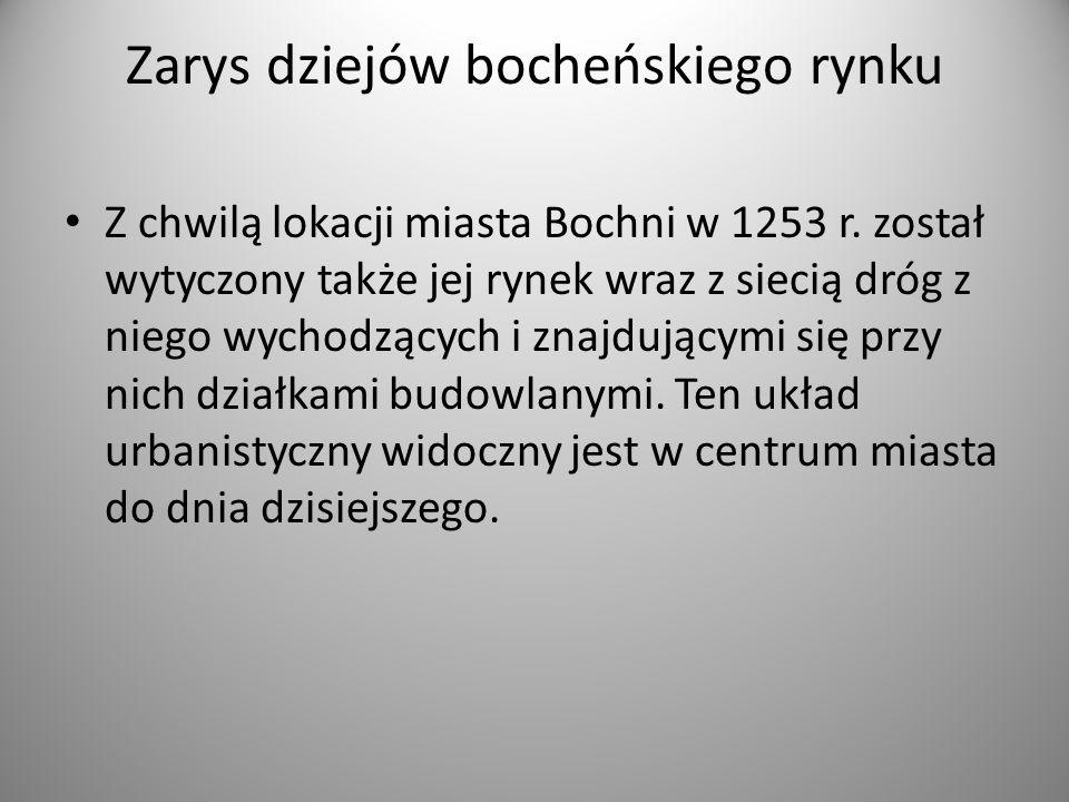 Zarys dziejów bocheńskiego rynku
