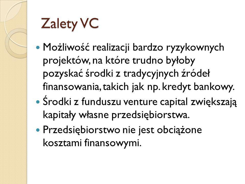 Zalety VC