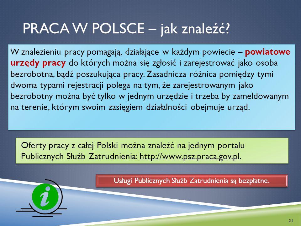 Praca w Polsce – jak znaleźć