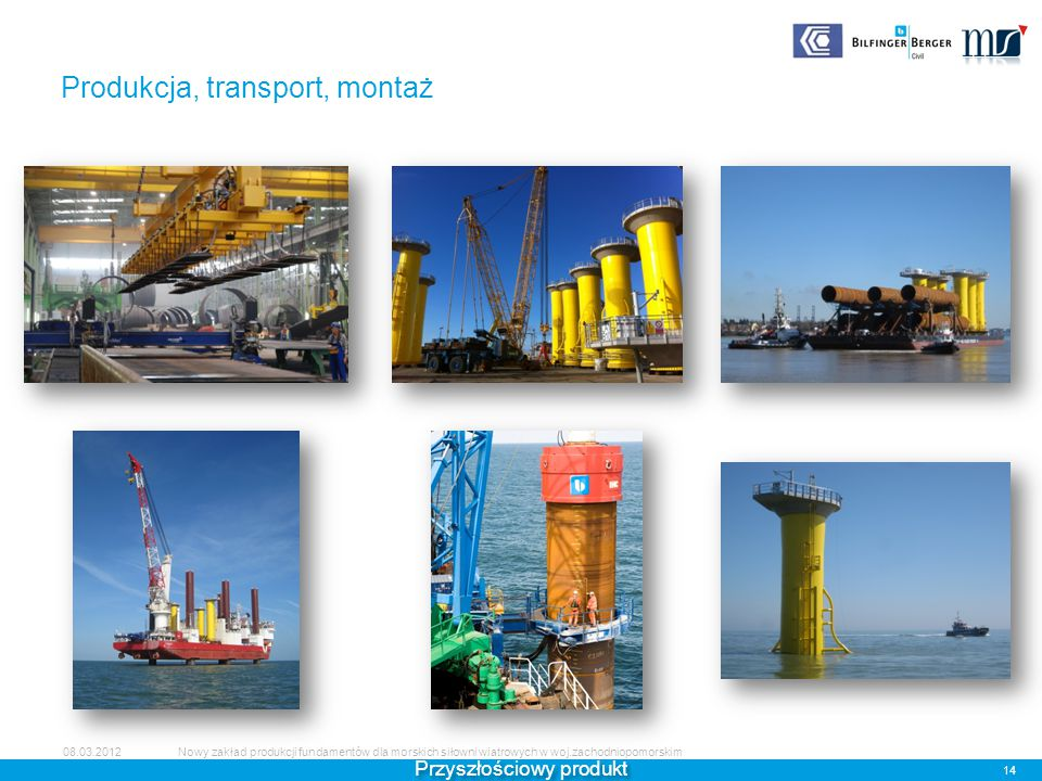 Produkcja, transport, montaż
