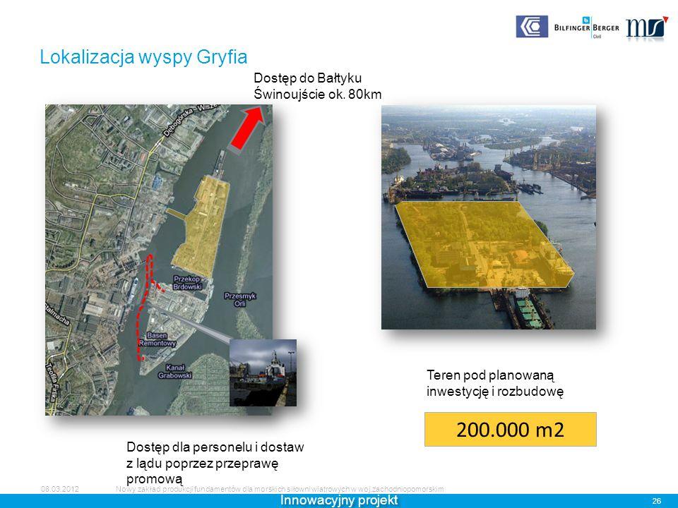 Lokalizacja wyspy Gryfia