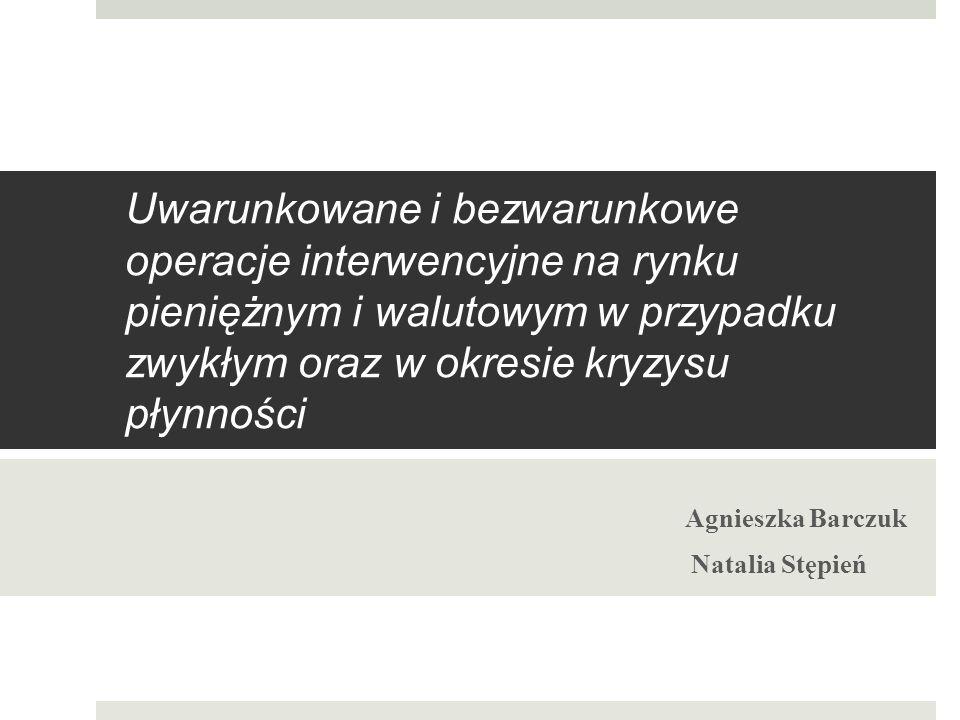 Agnieszka Barczuk Natalia Stępień