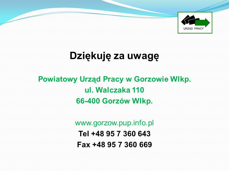 Powiatowy Urząd Pracy w Gorzowie Wlkp.