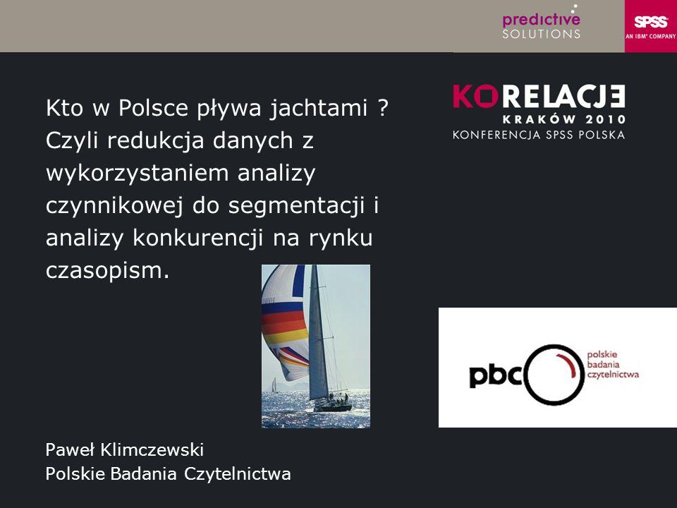 Paweł Klimczewski Polskie Badania Czytelnictwa