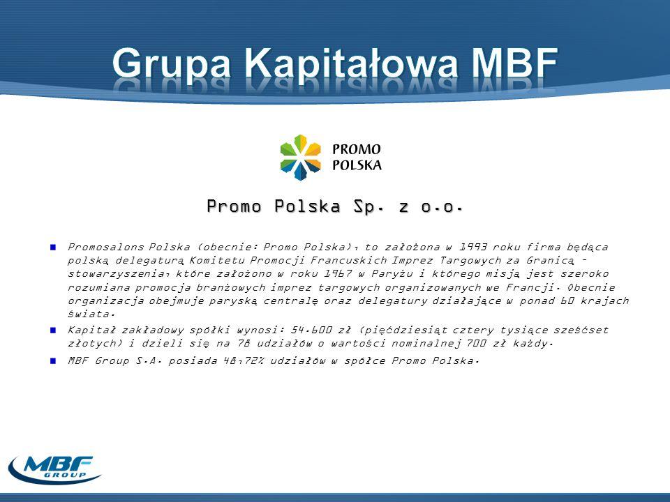 Grupa Kapitałowa MBF Promo Polska Sp. z o.o.