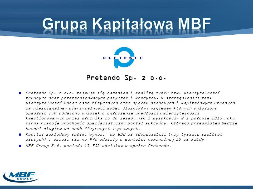 Grupa Kapitałowa MBF Pretendo Sp. z o.o.