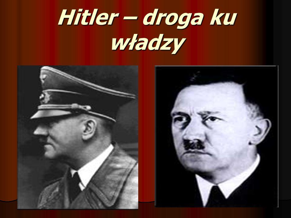 Hitler – droga ku władzy