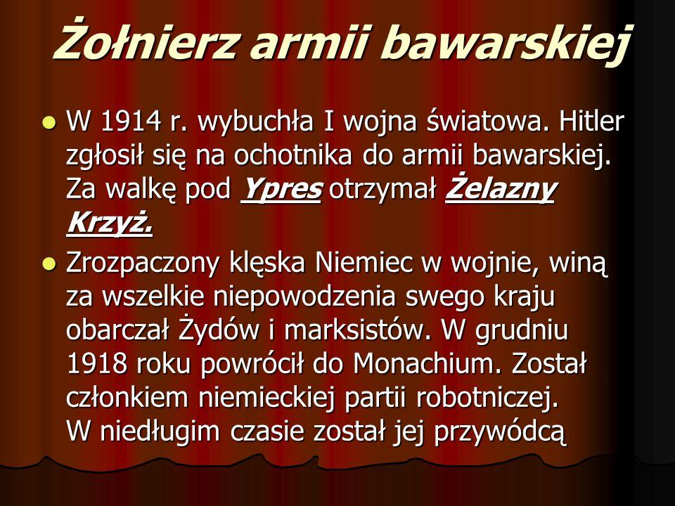 Żołnierz armii bawarskiej