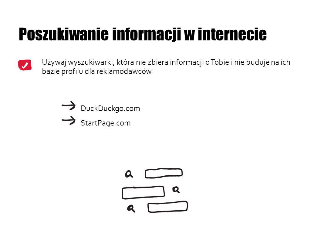 Poszukiwanie informacji w internecie
