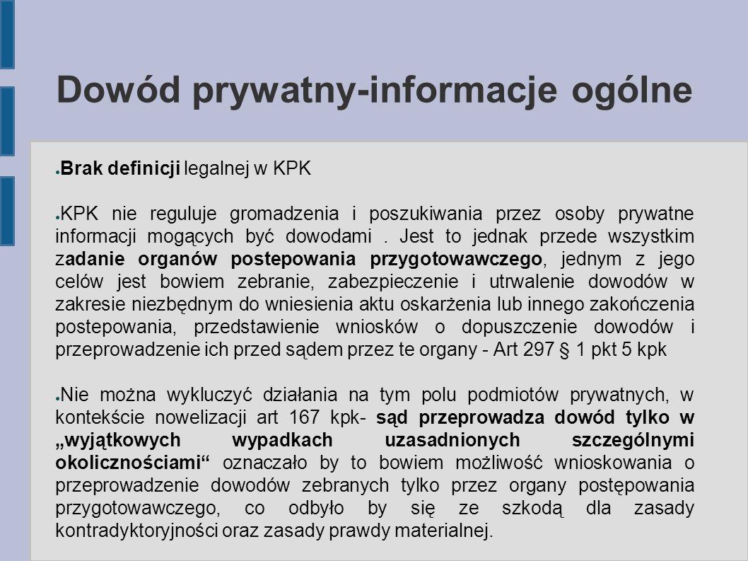 Dowód prywatny-informacje ogólne