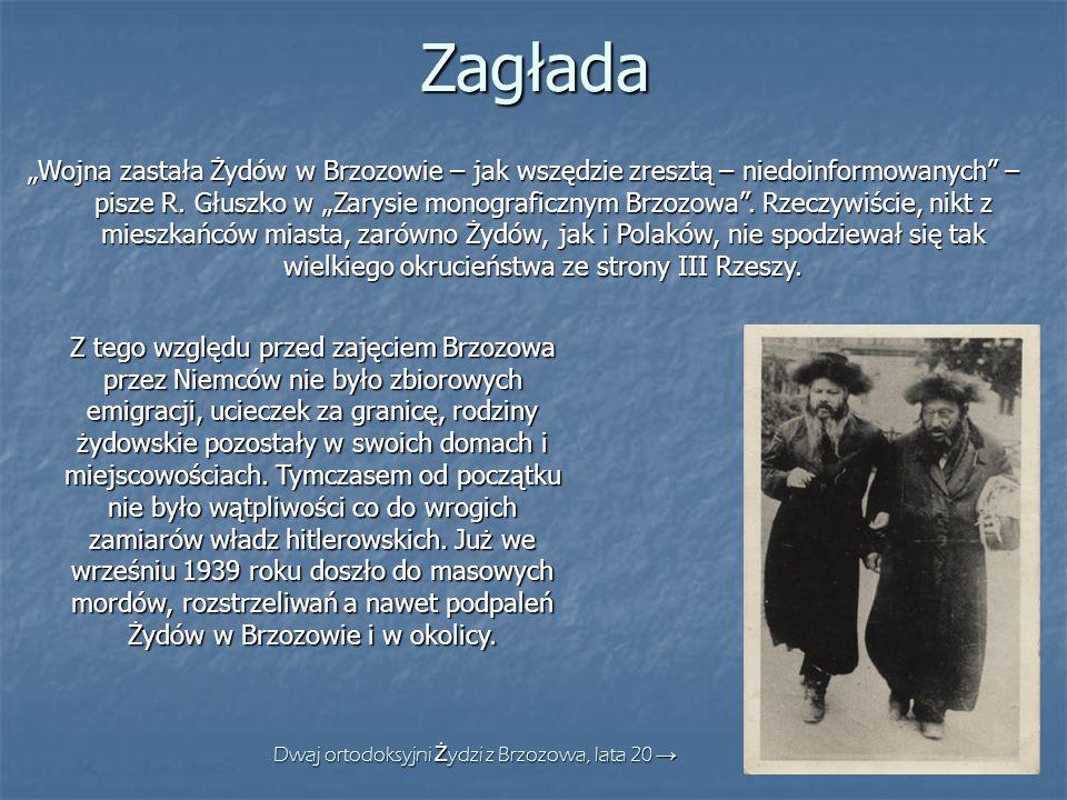 Dwaj ortodoksyjni Żydzi z Brzozowa, lata 20 →