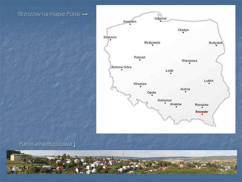 Brzozów na mapie Polski →