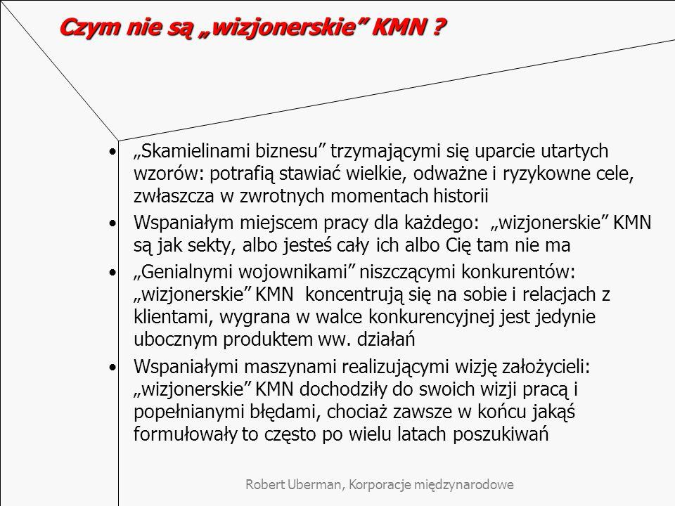 """Czym nie są """"wizjonerskie KMN"""