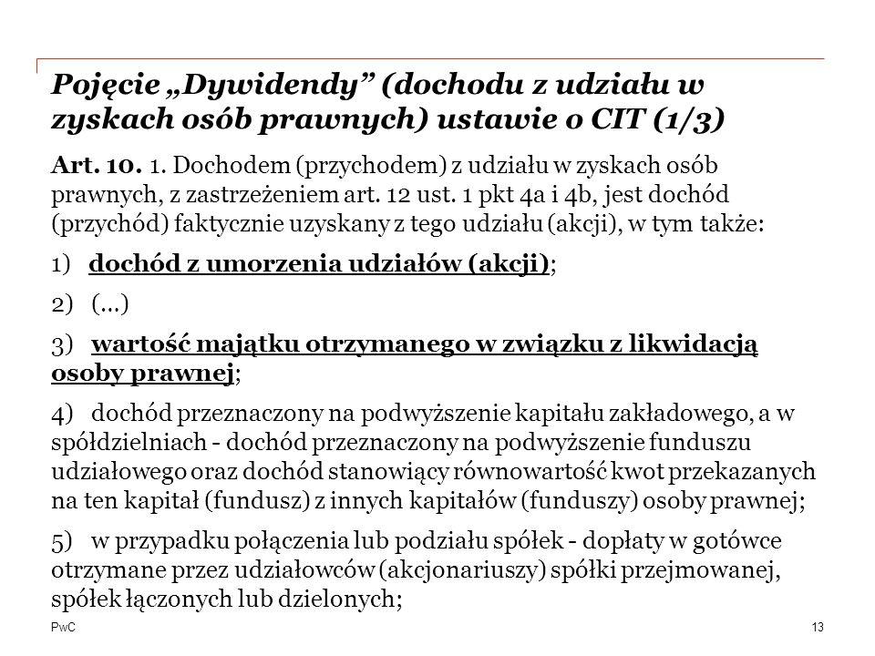 """Pojęcie """"Dywidendy (dochodu z udziału w zyskach osób prawnych) ustawie o CIT (1/3)"""