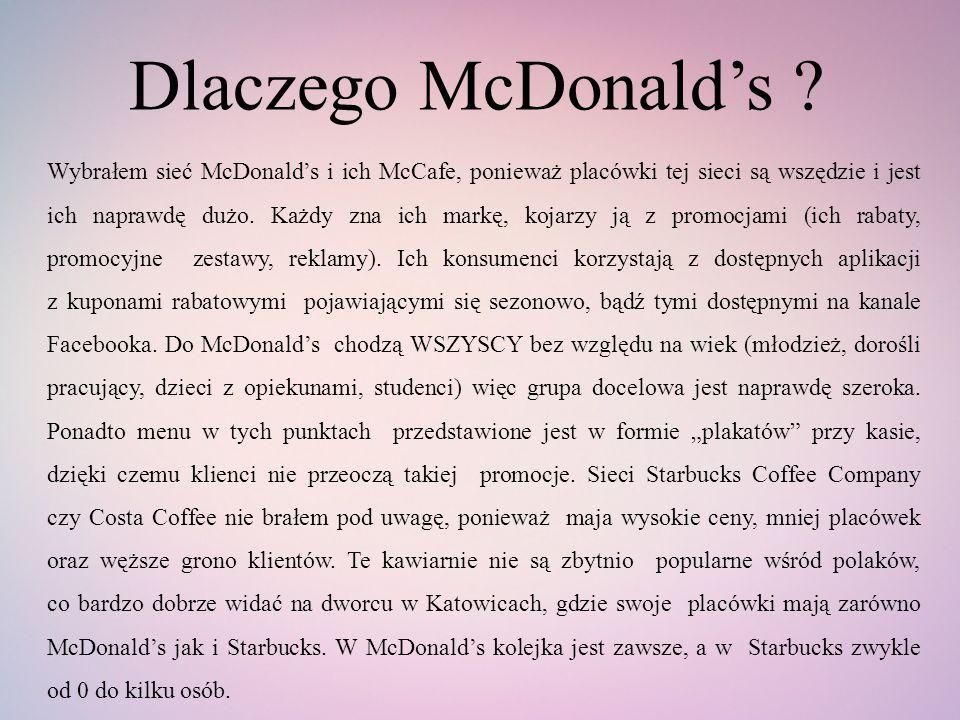 Dlaczego McDonald's