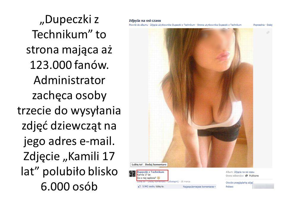 """""""Dupeczki z Technikum to strona mająca aż 123. 000 fanów"""