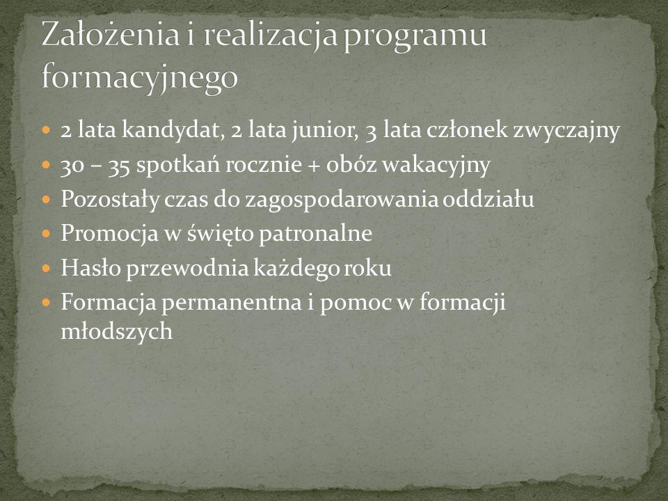 Założenia i realizacja programu formacyjnego