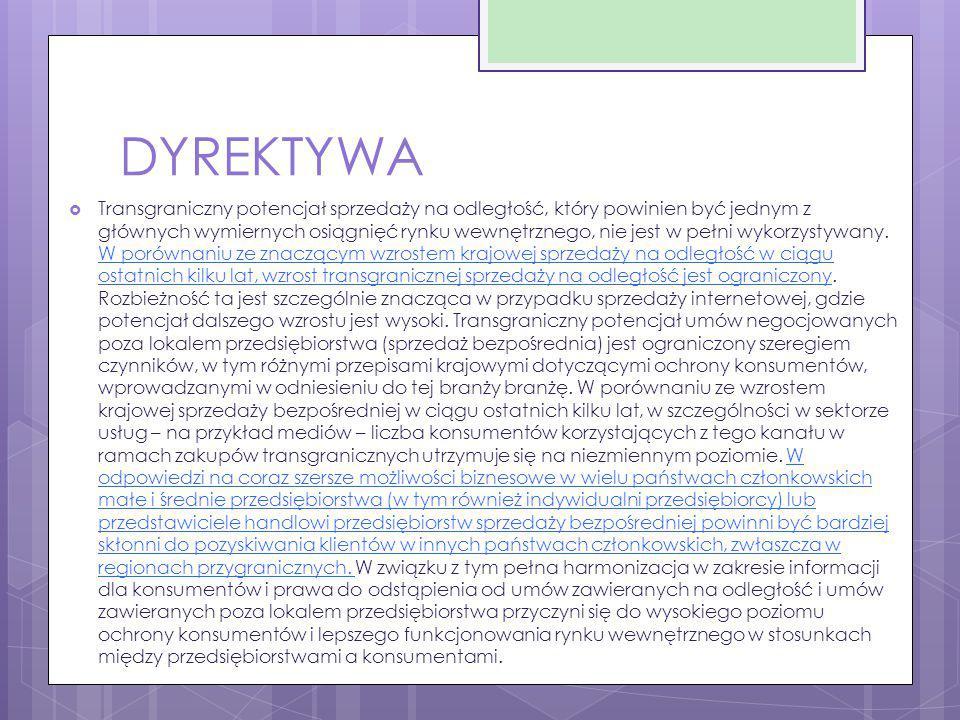 DYREKTYWA