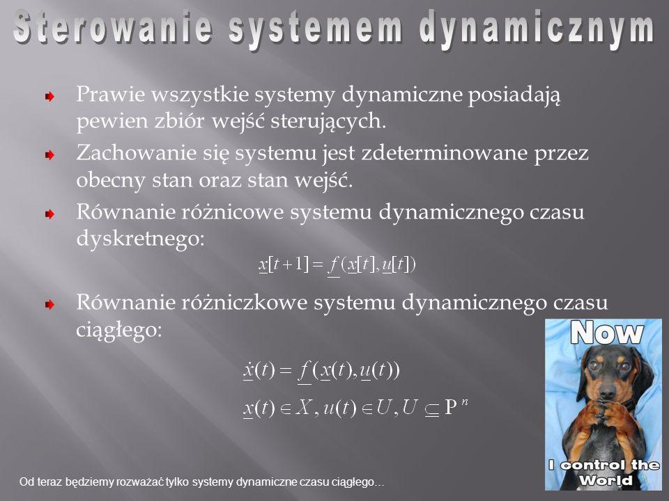 Sterowanie systemem dynamicznym