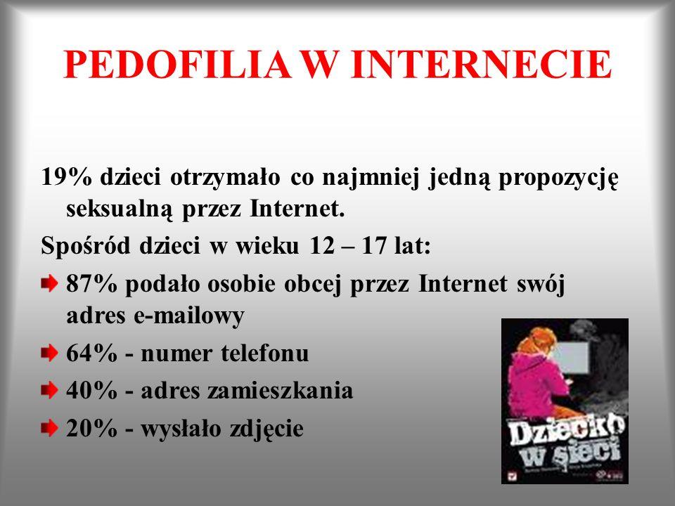 PEDOFILIA W INTERNECIE