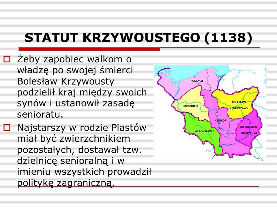 STATUT KRZYWOUSTEGO (1138)