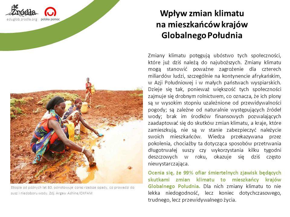Wpływ zmian klimatu na mieszkańców krajów Globalnego Południa